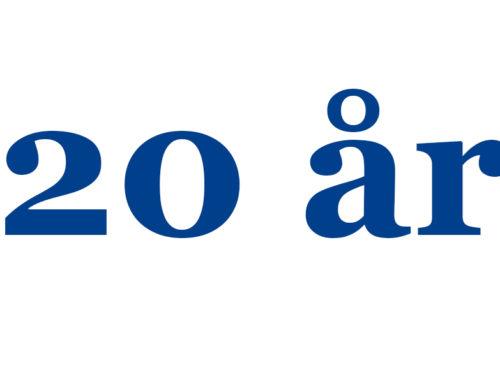 Gröna påsen firar 20 år i Norge