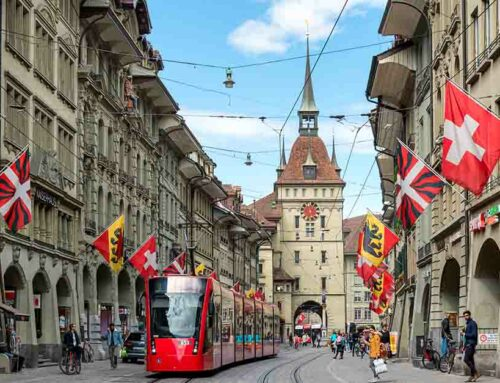 The Swiss capital Bern reports very good experiences with colour sorting