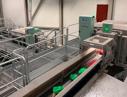 Den optiska sorteringsanläggningen i Ljungby är nu överlämnad.